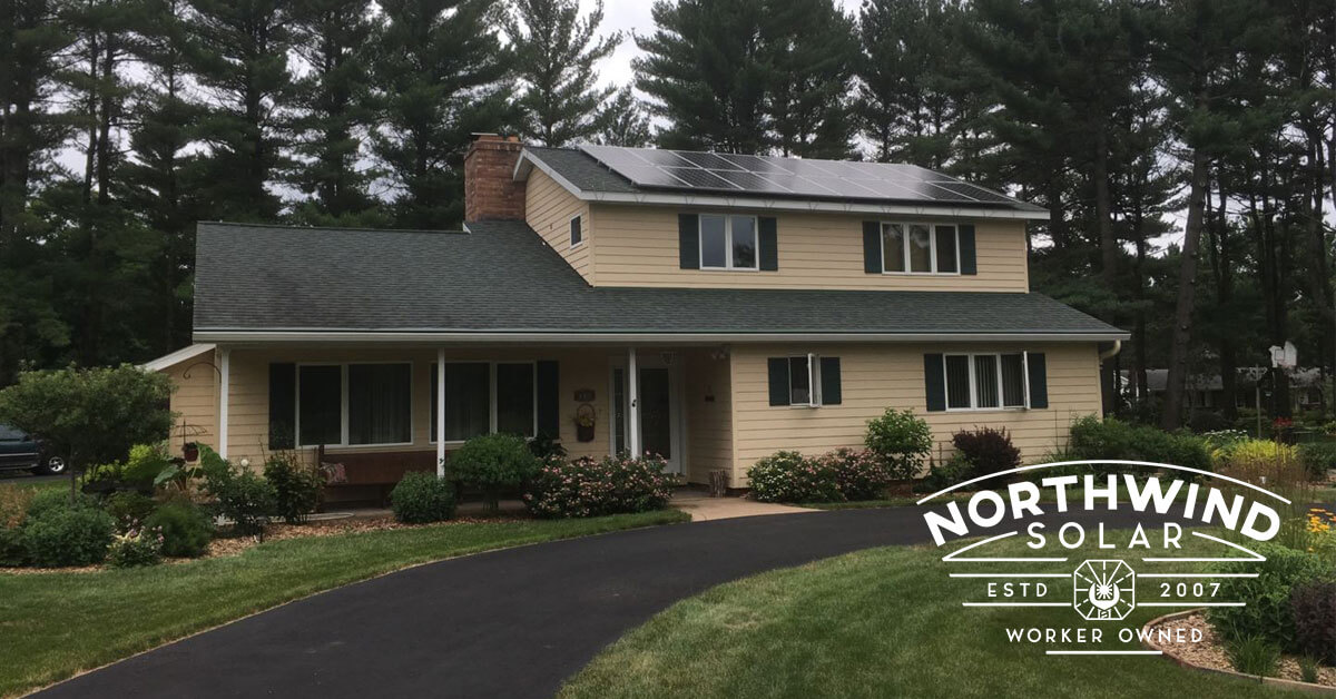 residential solar panel systems in Marshfield, WI