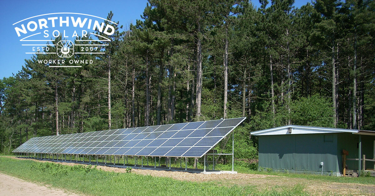 commercial solar panels in Shawano, WI