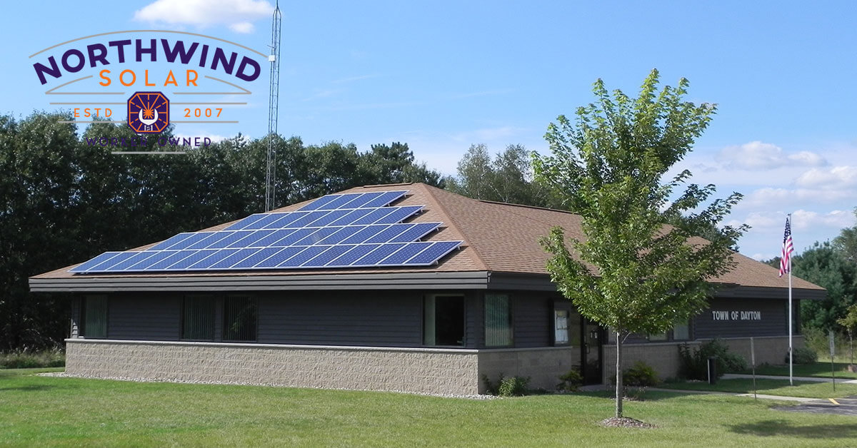 solar panels for local governments in Wisconsin