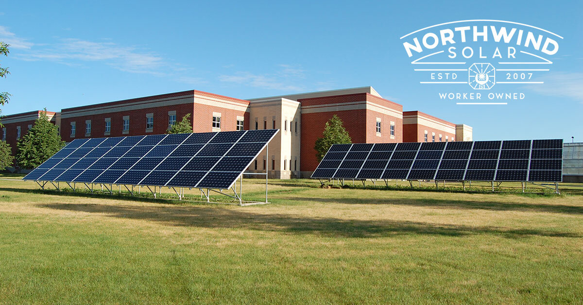 commercial solar panels in Stevens Point, WI