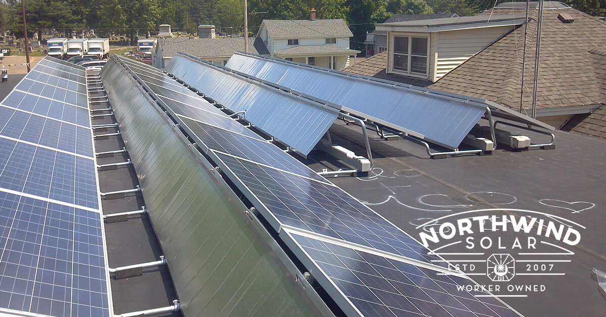 solar panel financing for libraries in Appleton, WI