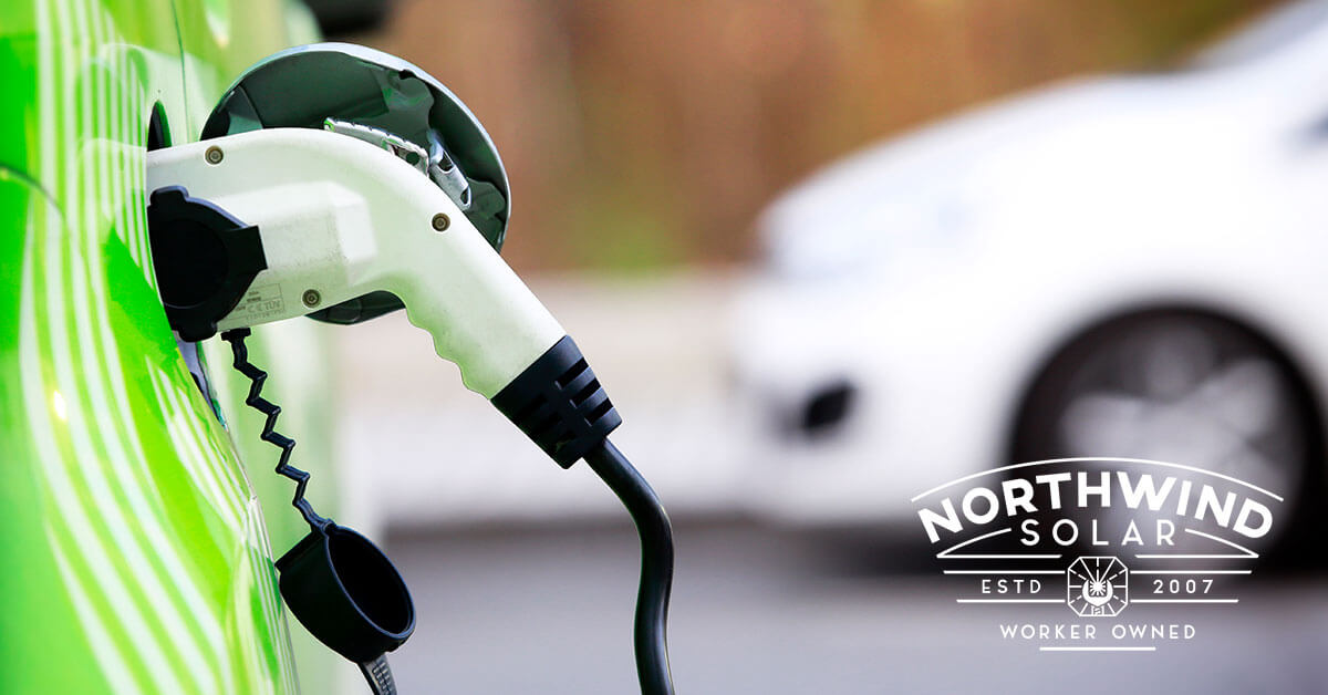 electric vehicle charging stations installations in Waupaca, WI