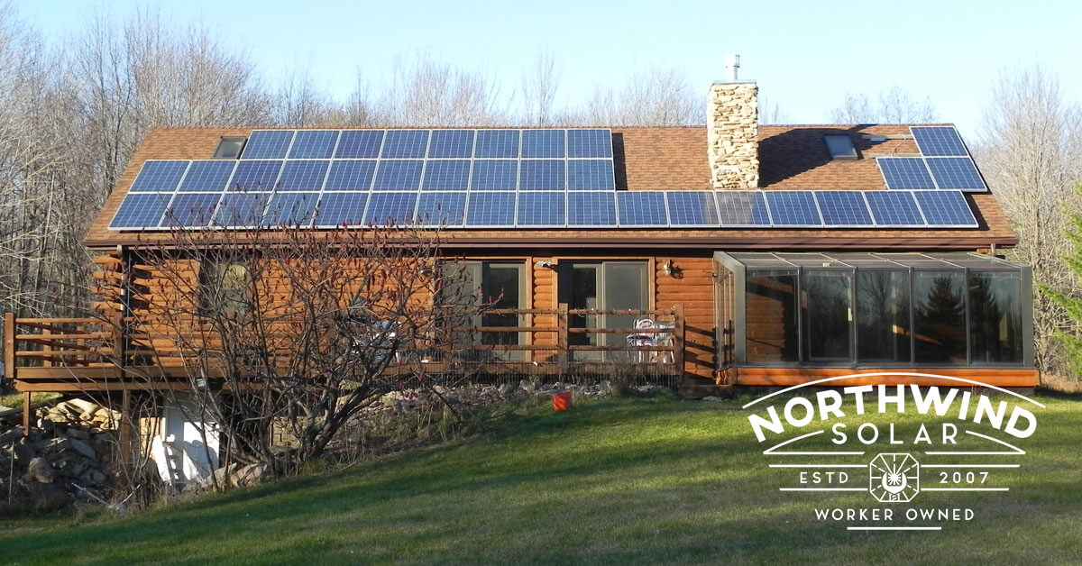 solar power systems for your home in Wisconsin