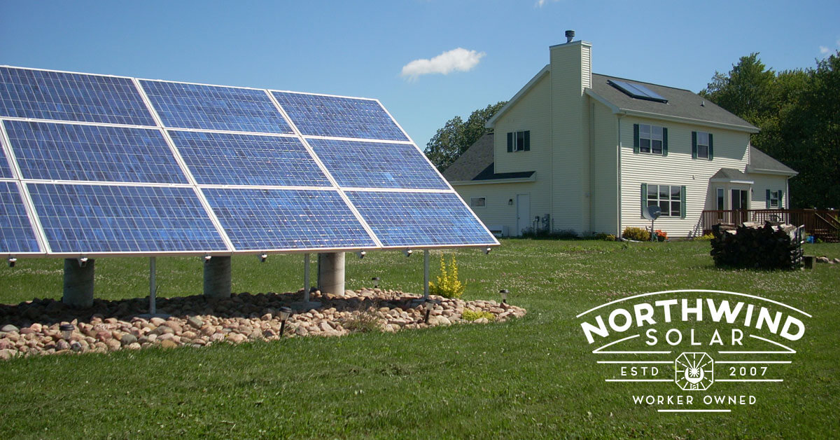 residential solar panel installation in Appleton, WI