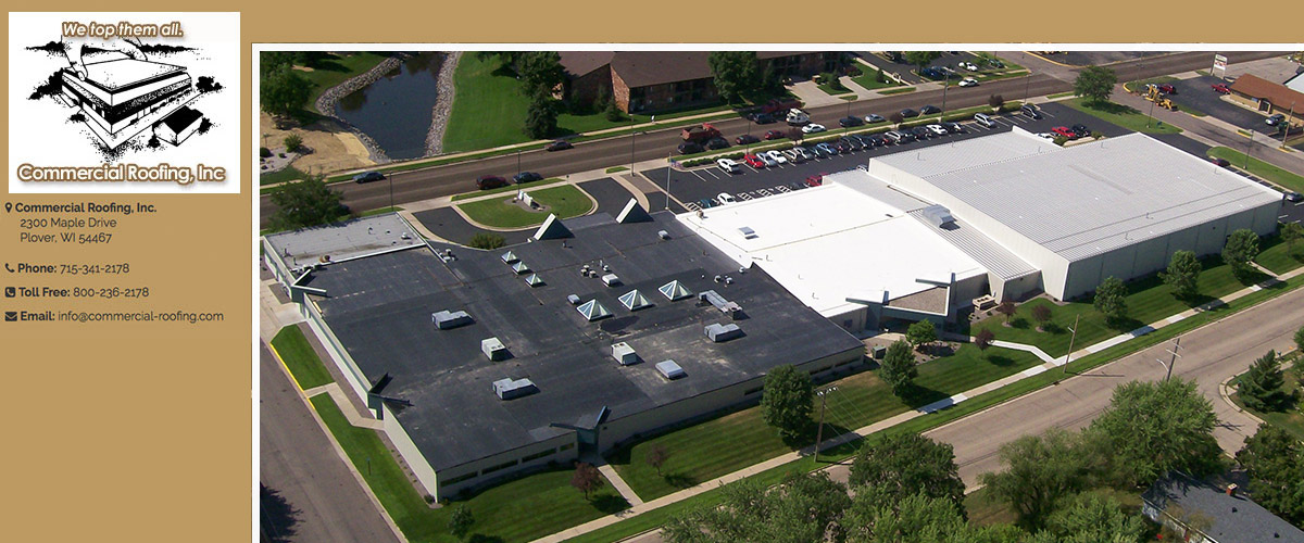 Commercial Roofing Maintenance in Antigo, WI